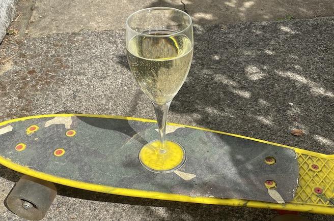 Jane Austen's skateboard