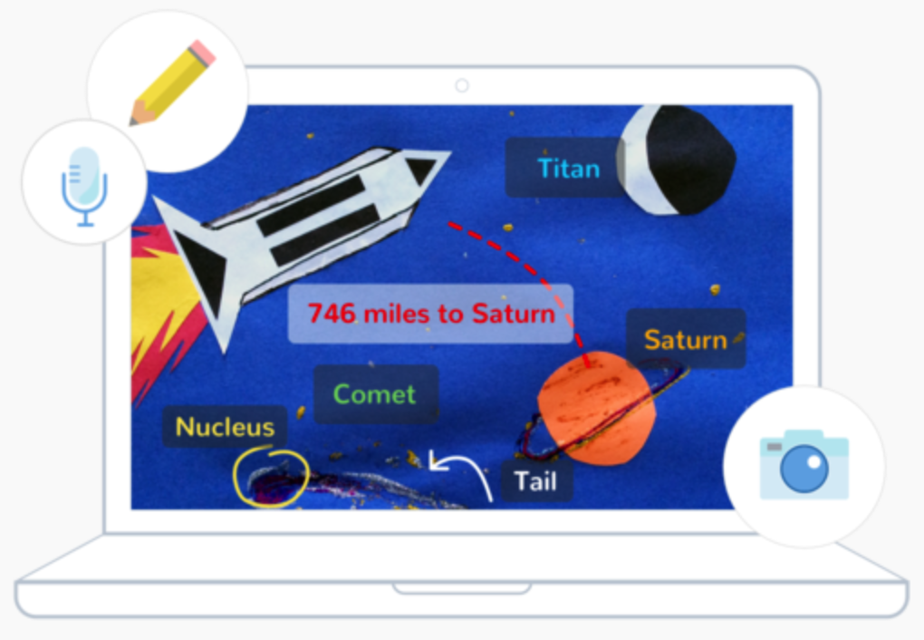 Seesaw home learning