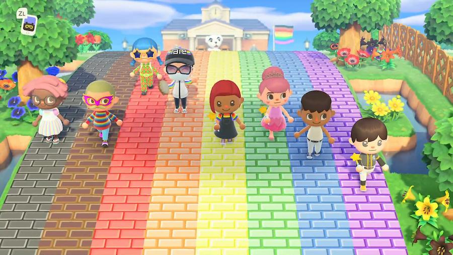 global pride - animal crossing