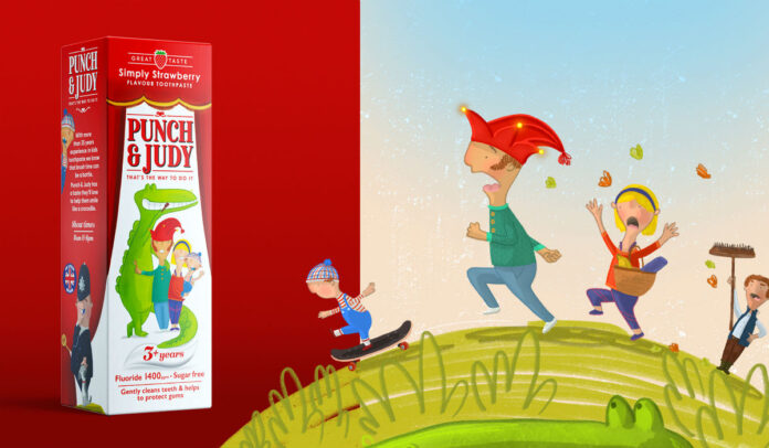 Punch & Judy Strawberry