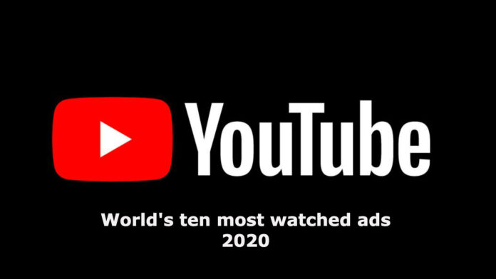 top ten youtube ads 2020