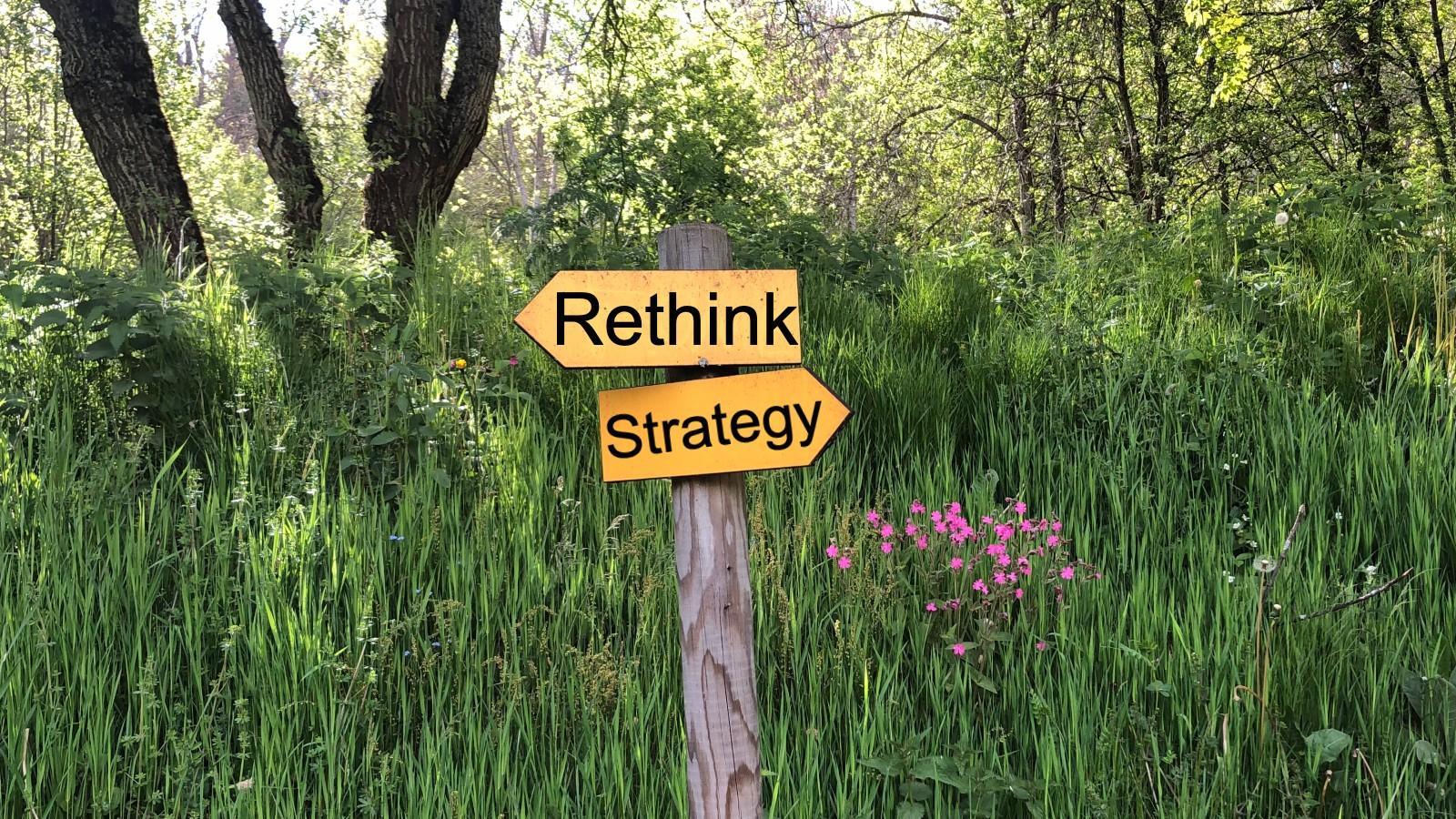 Rethink strategy - image © M Johnson