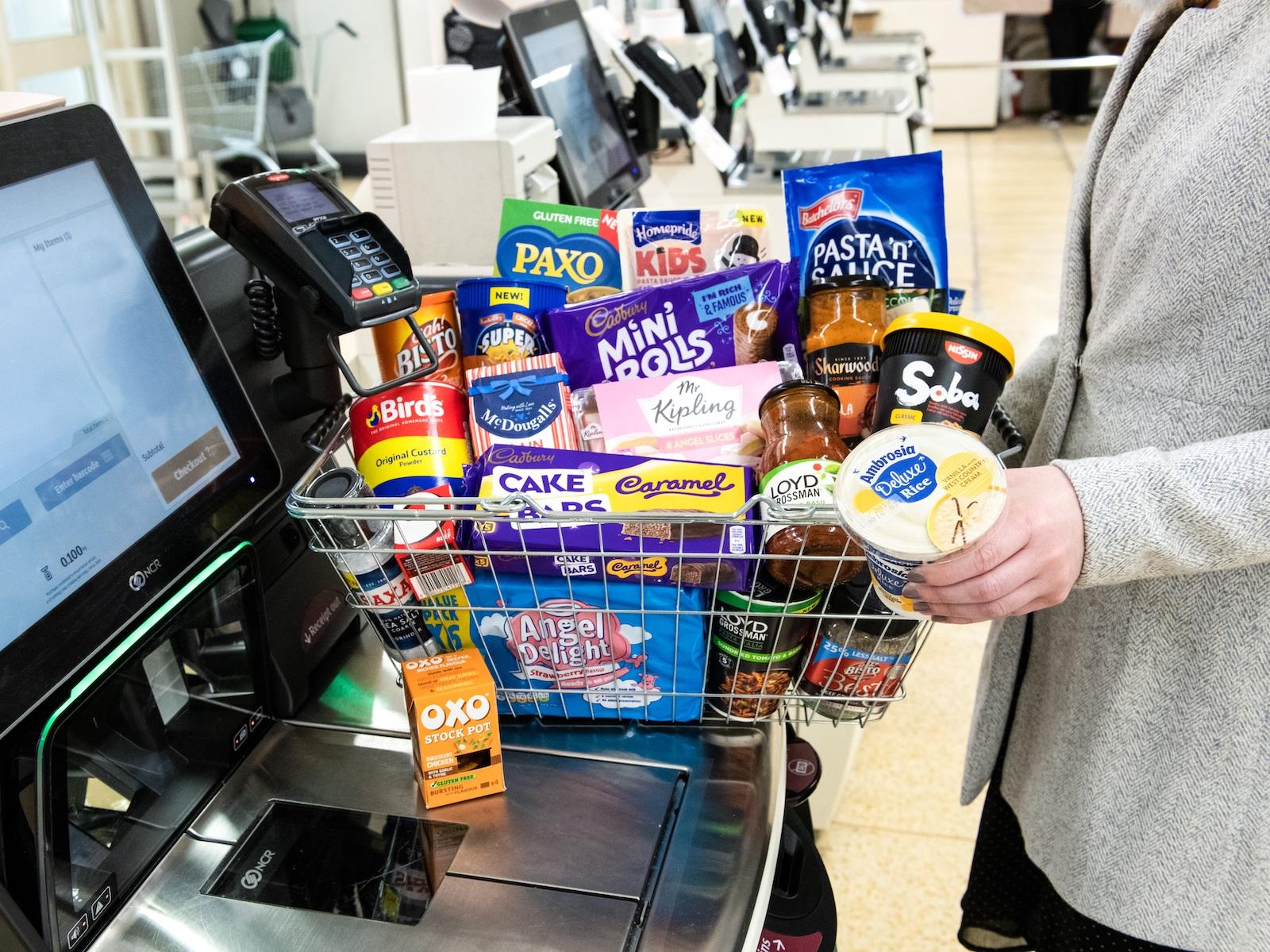 premier foods - checkout