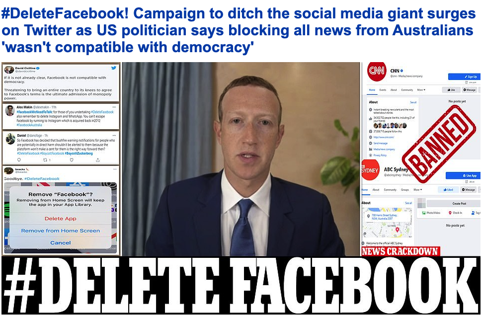 Daily Mail - Facebook story