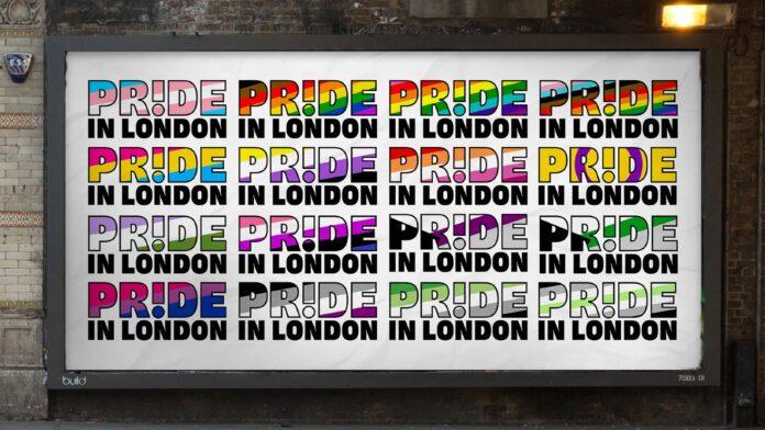 pride in london rebrand