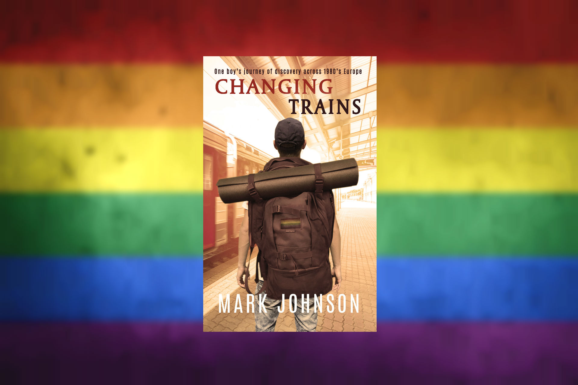 Changing Trains - gay travel adventure by Mark Johnson