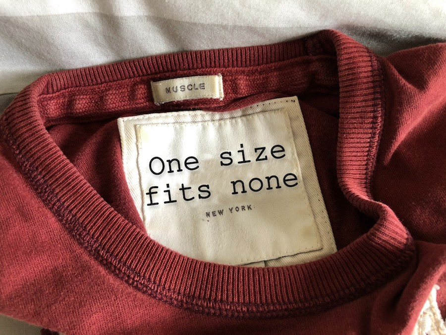 one size fits none ©mark johnson