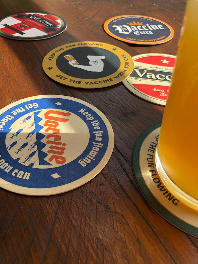 beervax mats in pubs