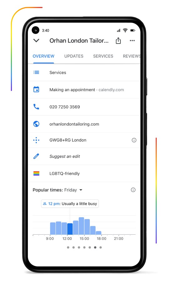 Orhan London - house of greenland, google pro logbtq biz push 2- mediashotz