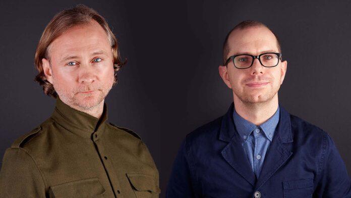 Phillip Meyler (L) Darren Keff (R) Senior Creative Team St Luke's - mediashotz