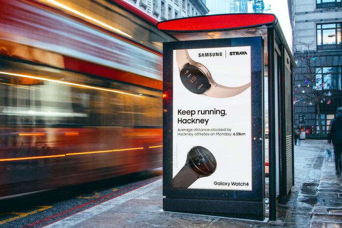 Samsung Strava Challenge, Rapp 3 - mediashotz