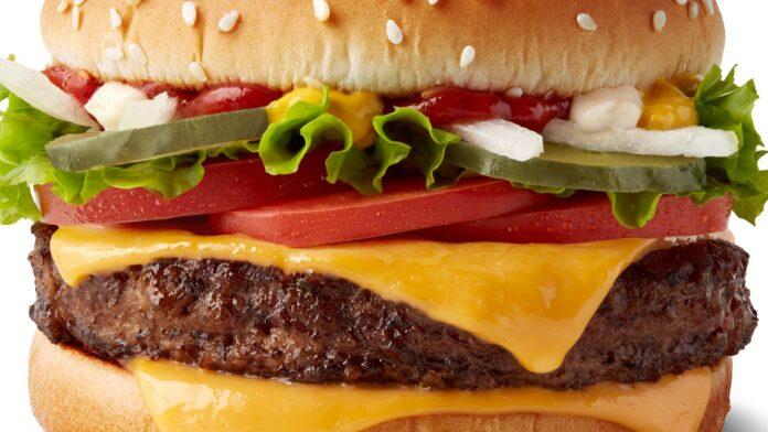 Burgers in lockdown - mcdonald's quarter pounder w_cheese - mediashotz