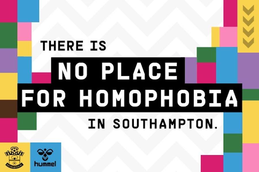 southampton fc tackles homophobia - mediashotz